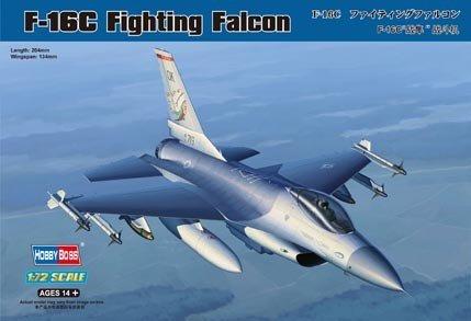 Hobby Boss 80274 F-16C Fighting Falcon (1:72)