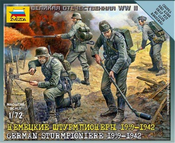 Zvezda 6110 German IIWW Sturmpioniere (1:72)