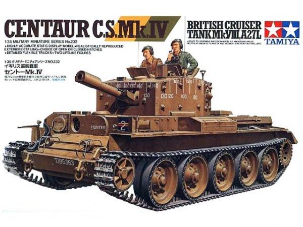 Tamiya 35232 Centaur C.S. Mk.IV British Cruiser Tank Mk.VIII, A27L (1:35)
