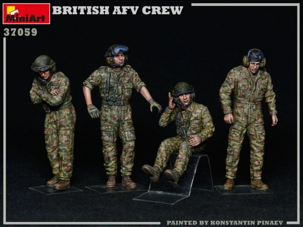 MiniArt 37059 British AFV Crew 1/35