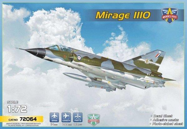 Modelsvit 72064 Mirage IIIO Interceptor 1/72