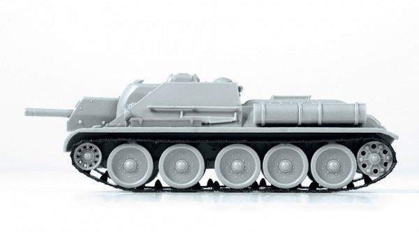 Zvezda 5043 SU-122 SOVIET TANK DESTROYER 1/72