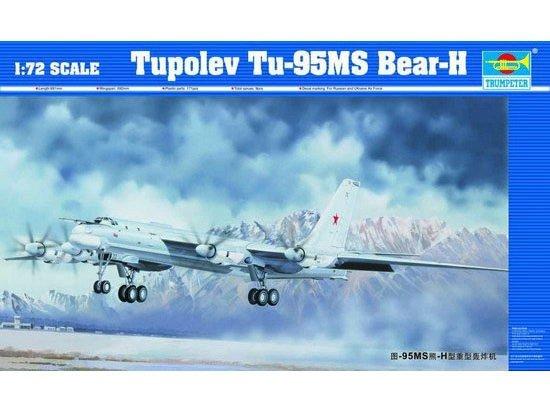 Trumpeter 01601 Tupolev Tu-95MS Bear-H (1:72)