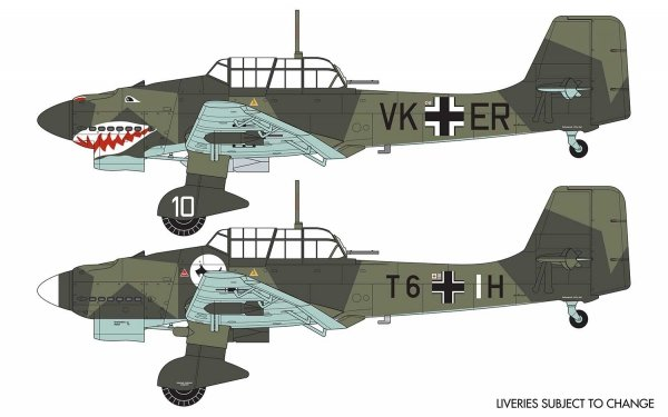 Airfix 03087A Junkers Ju87 B-1 Stuka 1/72