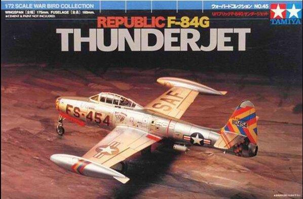 Tamiya 60745 Republic F-84G Thunderjet (1:72)