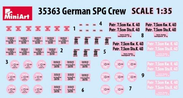 MiniArt 35363 GERMAN SPG CREW 1/35