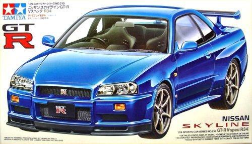 Tamiya 24210 Nissan Skyline GT-R V-spec (R34) (1:24)