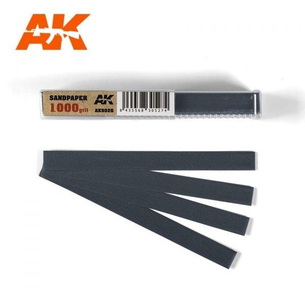 AK Interactive AK 9026 SANDPAPER GRAIN 1000 (WET)