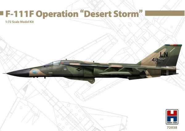 "Hobby 2000 72038 General-Dynamics F-111F Operation "" Desert Storm "" 1/72"