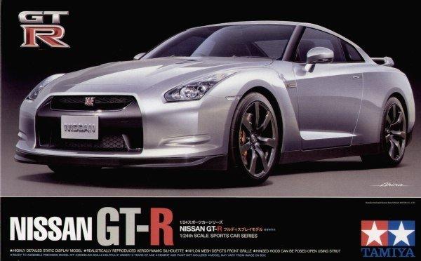 Tamiya 24300 Nissan GT-R (1:24)