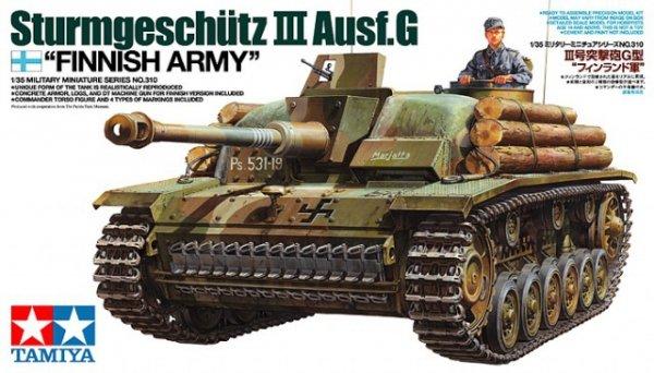 "Tamiya 35310 Sturmeschutz III Ausf.G ""Finnish Army"" (1:35)"