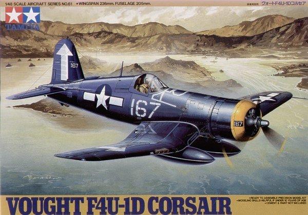 Tamiya 61061 Vought F4U-1D Corsair (1:48)