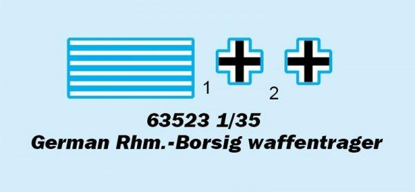 I Love Kit 63523 German Rhm.-Borsig Waffentrager 1/35