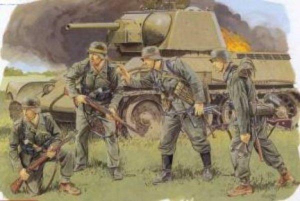 Dragon 6153 German Infantry (Ukraine, Summer 1943) (1:35)