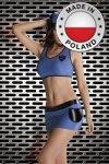 POLICE WOMAN niebieski kostium