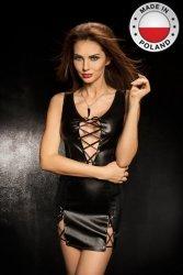 CARISSA DRESS czarna sukienka