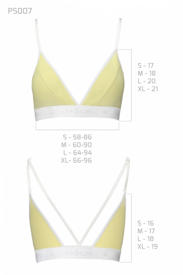PS007 TOP yellow