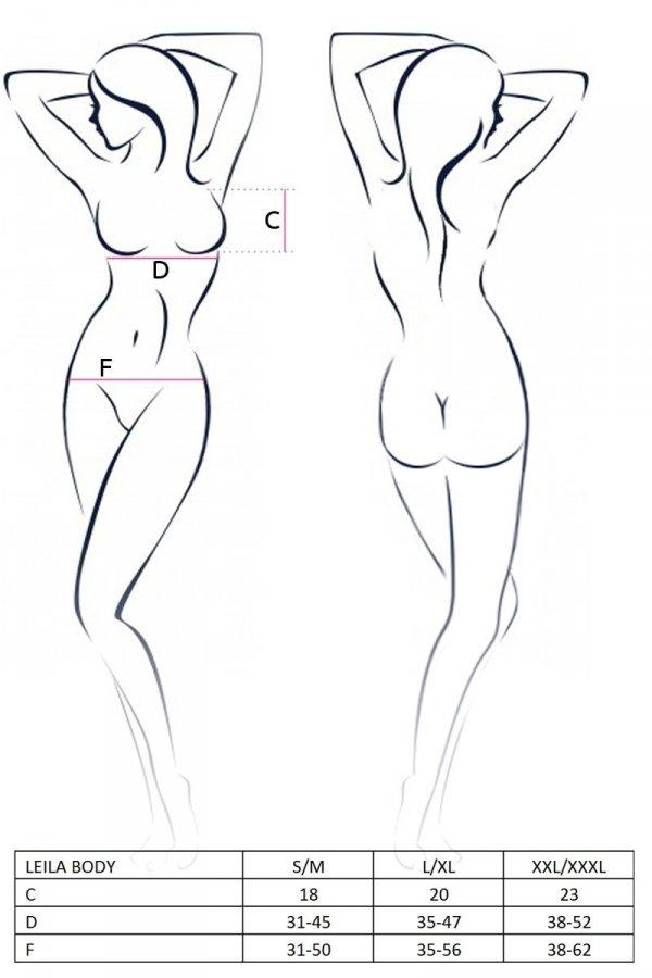 LEILA BODY kremowe body