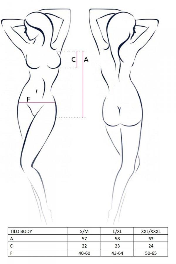 TILO BODY czarne body