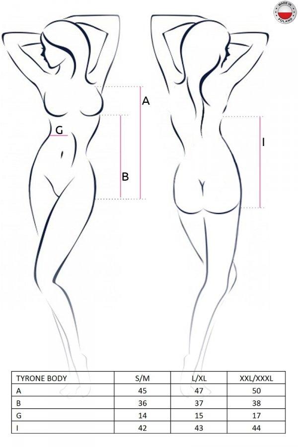 TYRONE BODY czarne body