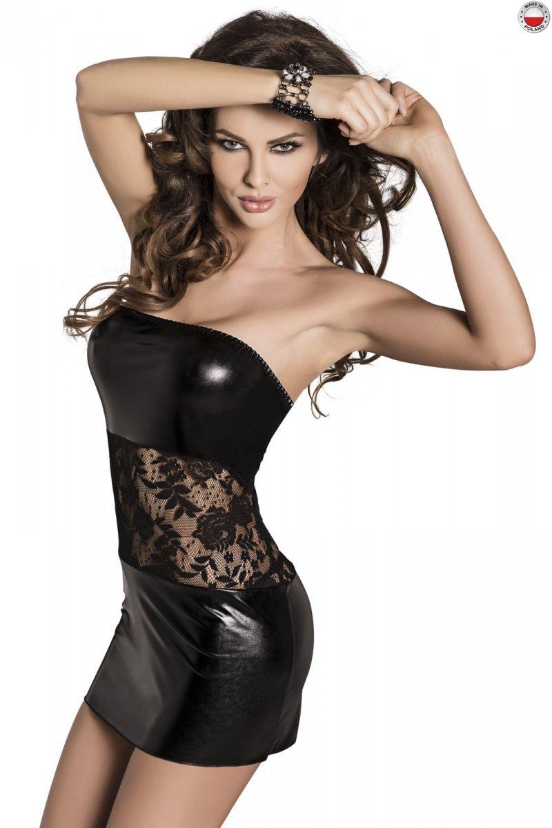 SATI DRESS czarna sukienka