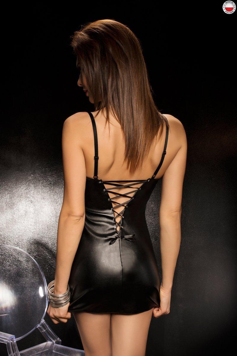 BRAVURO DRESS czarna sukienka
