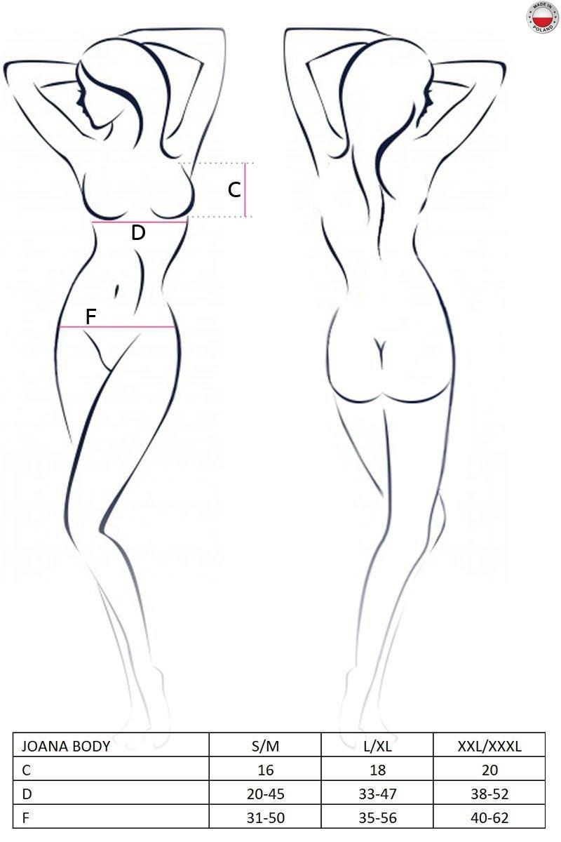 JOANA BODY czarne body