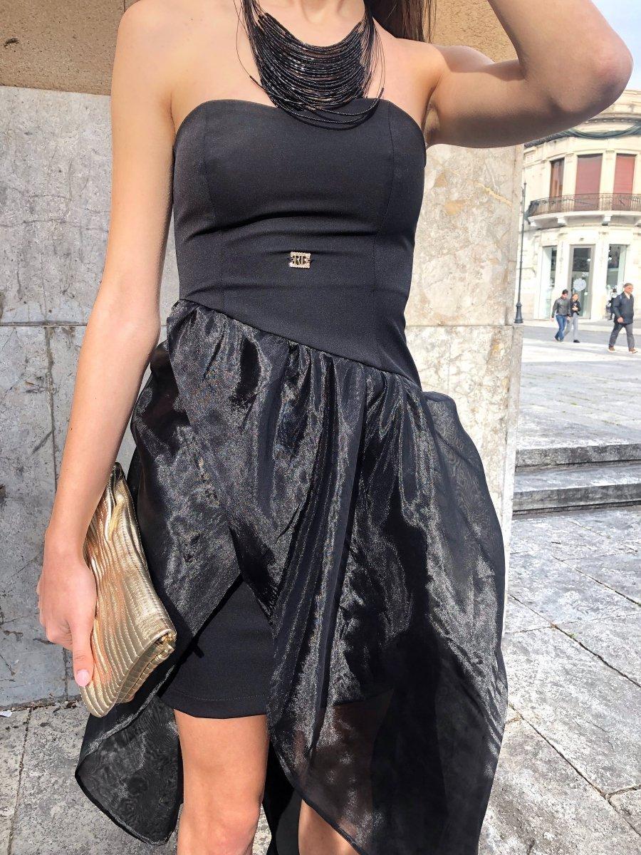 save off 52983 3737a Abito Roberta Biagi - Vestito elegante nero - Blaky