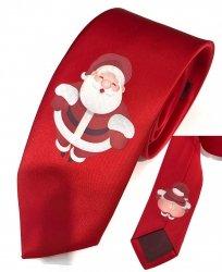 Cravatta rossa - con Babbo natale