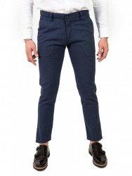 Pantaloni Key Jey - Uomo - Microfantasia blu