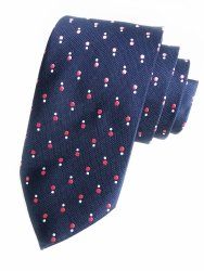 Cravatta - Uomo - Microfibra - BLU