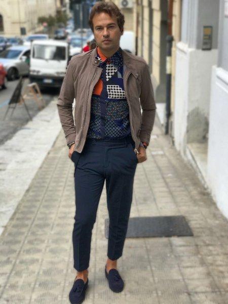 Pantaloni blu - Abbigliamento uomo gogolfun.it