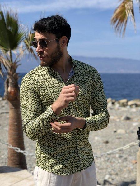 Camicia fantasia uomo - Abbiglimento uomo - Gogolfun.it