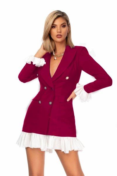 Vestito corto elegante - Blazer - Abiti donna - Gogolfun.it
