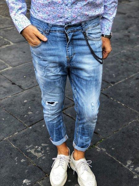 Jeans uomo strappati - Abbigliamento uomo - Reggio Calabria - Gogolfun.it