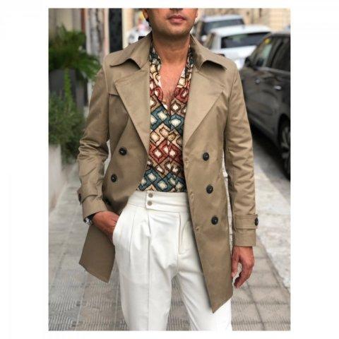 Camicia, collo coreano -  Camicie uomo gogolfun.it
