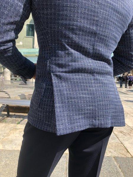 Giacche uomo sportive - Giacche blu - Abbigliamento uomo - Gogolfun.it