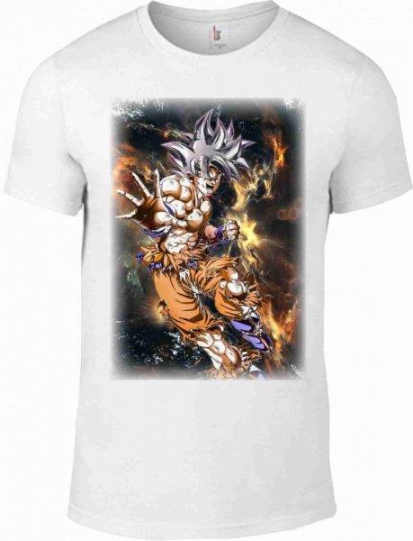 T-shirt Goku - Bianca - Magliette uomo Gogolfun.it