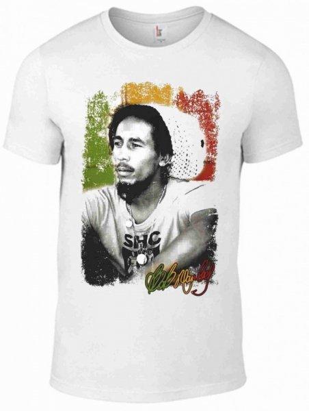 T shirt - Bob Marley - Bianca - Magliette Gogolfun.it