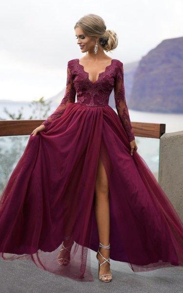 Abiti donna - Vestito lungo elegante - Gogolfun.it