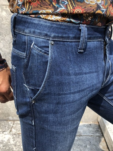 Denim uomo - Jeans classico - Jeans slim -Gogolfun.it