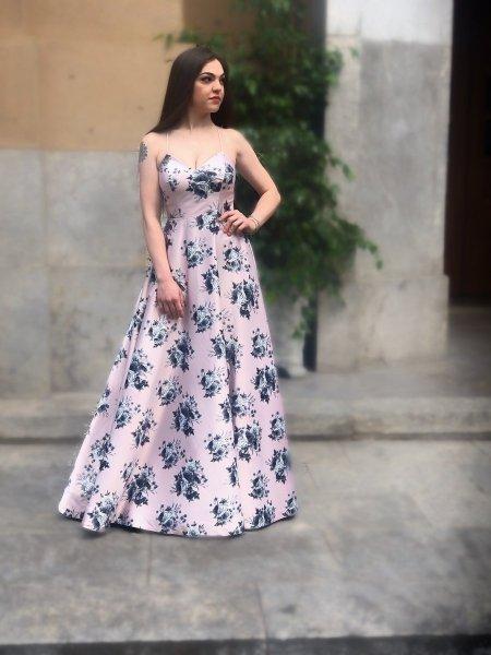 Vestito stile impero rosa - Abito elegante - Vestiti online - Gogolfun.it