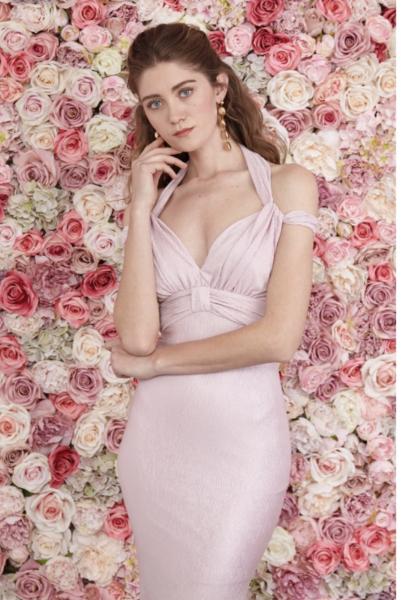 Cerimonia donna - Vestito rosa lungo - A sirena - Gogolfun.it