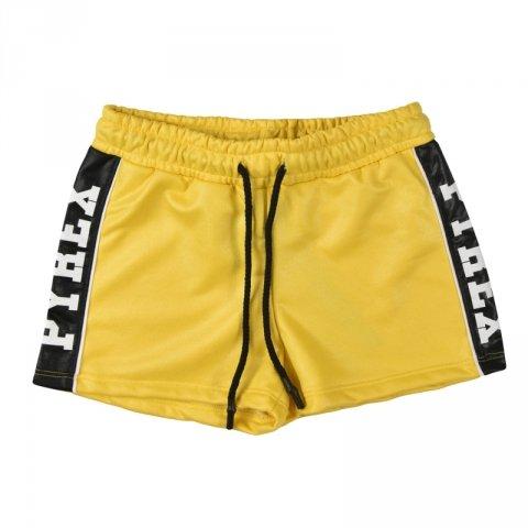 Pyrex pantaloncini corti gialli - Pantaloncini pyrex da ragazza - Abbigliamento pyrex gogolfun.it
