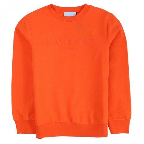 Felpa arancione bambino - Lanvin - Abbigliamento bambini - Gogolfun.it