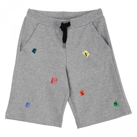 Pantaloncini bambino, grigio fantasy - Lanvin - Abbigliamento bambini - Gogolfun.it