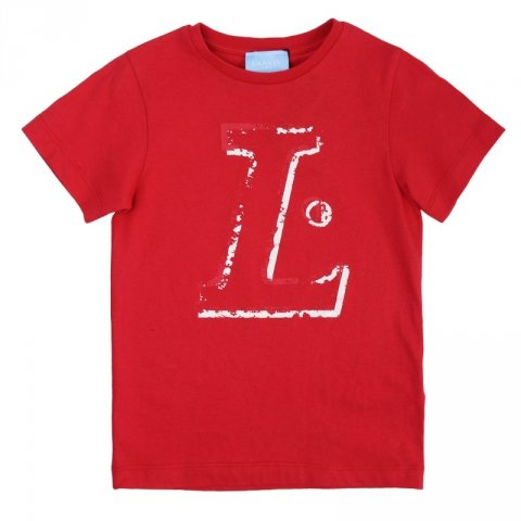 Maglietta rossa, bambino - Lanvin - Abbigliamento bambini - Gogolfun.it