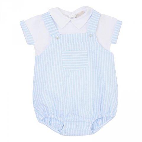 Completo azzurro, bambino - Lalalù - Abbigliamento bambini online - Gogolfun.it