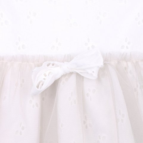 Kids Company - Abito bianco neonata