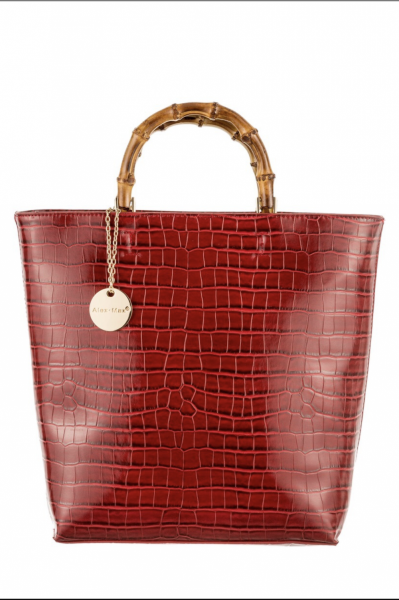 Borsa donna, ecopelle rossa - Gogolfun.it